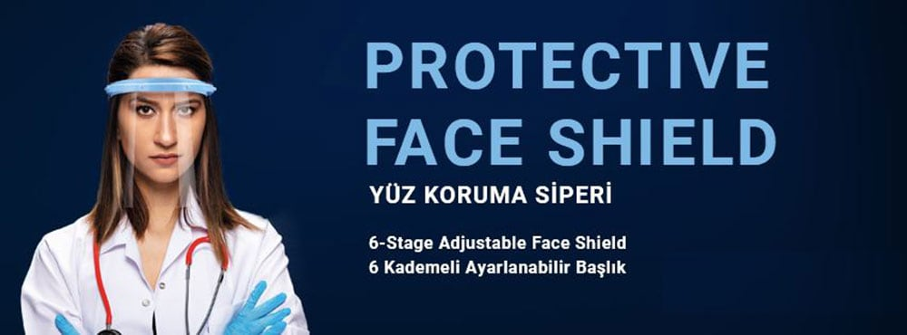 Cam yüz maskesi